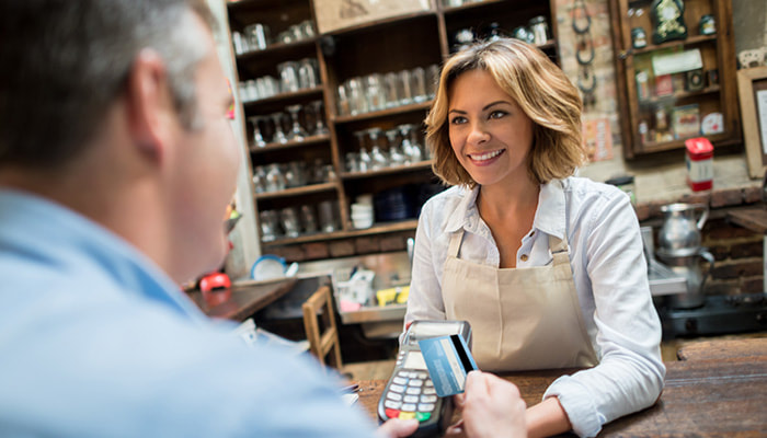 Cashflow assistance with lady at retail shop as advised by Grey and Grey